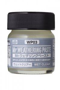 Gunze Sangyo WP03 Weathering Paste Wer Clear (40ml)