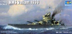 Trumpeter 05796 HMS Valiant (1939 version) 1/700