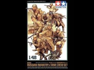 Tamiya 32521 Russian Infantry (1:48)