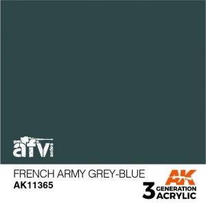 AK-Interactive AK 11365 French Army Grey-Blue 17ml