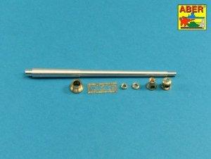 Aber 35L-231 10,5cm KwK L/70 barrel with double baffle muzzle brake for German Pz.Kpfw. VII Lowe 1/35 1/35