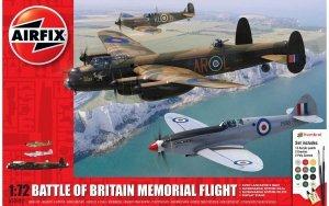 Airfix 50182 Battle of Britain Memorial Flight Gift Set 1/72