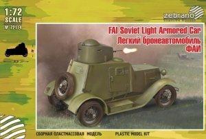 Zebrano 72114 FAI Soviet Light Armored Car 1/72