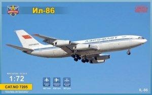 Modelsvit 7205 Ilyushin IL-86 Limited Edition 1/72