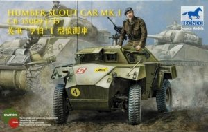 Bronco CB35009SP Humber Scout Car Mk.I 1/35