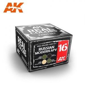 AK Interactive RCS016 RUSSIAN MODERN AFV SET (4x10ml)