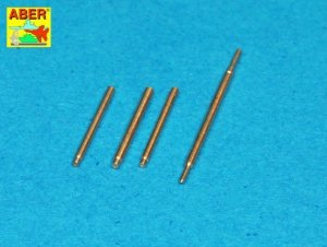 Aber A48 114 Armament for Soviet fighter MIG-3 2x7,62ShKAS; 1x12,7mm UBS; pitot tube (1:48)