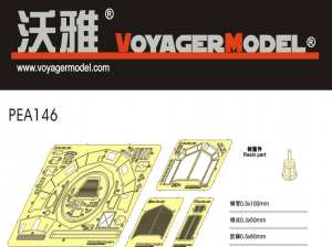 Voyager Model PEA146 WWII German Sd.Kfz.222&Sd.Kfz.250/9 for TAMIYA 35270/35115 1/35