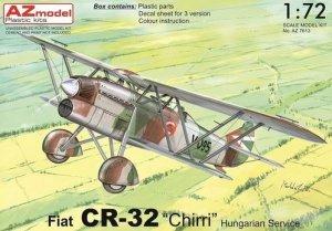 AZmodel AZ7613 Fiat CR-32 Chirri Hungarian Service 1/72