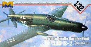 HK Models 01E07 Dornier Do-335 B-2 Zerstorer Pfeil (1:32)