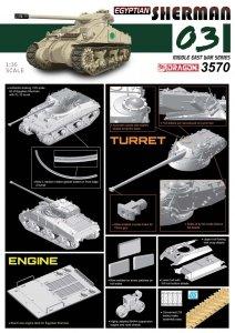 Dragon 3570 Egyptian Sherman (1:35)