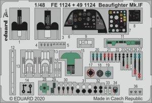 Eduard 491124 Beaufighter Mk.IF REVELL 1/48