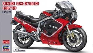 Hasegawa 21725 Suzuki GSX-R750 (H) (GR71G) (1987) 1/12