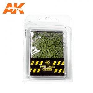AK Interactive AK 8165 MAPLE SUMMER LEAVES 75MM / 90MM  1/32 1/35