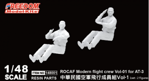 Freedom 148001 Students and instructor ROCAF Modern flight crew Vol-01 for AT-3 1/48