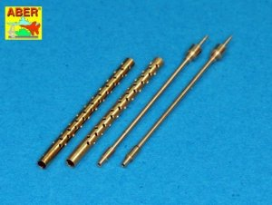 Aber A32013 Set of 2 barrels for 13,2 mm Japanese Type 3 aircraft machine guns used on Mitsubishi A6M5b/c, A6M7, A6M8 (1:32)