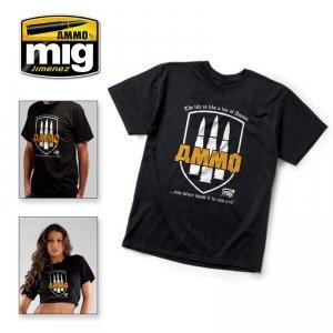 AMMO of Mig Jimenez 8000L AMMO T-shirt ( rozmiar , size L)