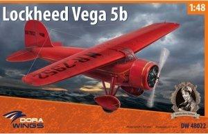 Dora Wings 48022 Lockheed Vega 5b Record Flights 1/48