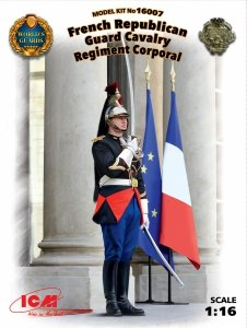 ICM 16007 French Republican Guard Cavalry Regiment Corporal  (1:16)
