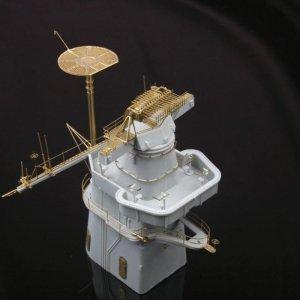 MK1 Design MS-20007 USS IOWA MAST DETAIL-UP SET 1/200