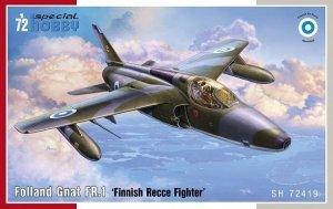 Special Hobby 72419 Folland Gnat FR.1 'Finnish Recce Fighter' 1/72