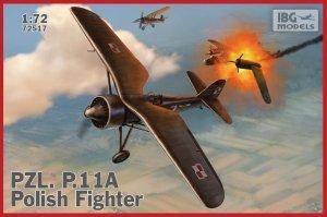IBG 72517 PZL P.11a Polish Fighter 1/72