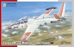 Special Hobby 72375 Fouga CM.170 Magister/ IAI Tzukit 'IAF' 1/72