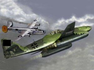 Trumpeter 01319 Messerschmitt Me262A-1a 1/144