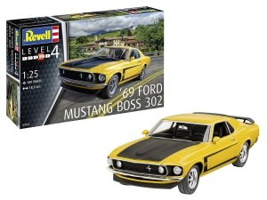 Revell 07025 '69 Ford Mustang Boss 302 1/25