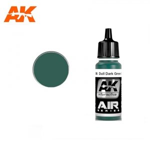 AK Interactive AK 2106 DULL DARK GREEN (FS 34092) 17ml