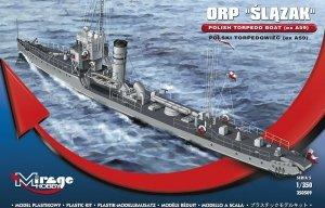 Mirage Hobby 350509 ORP Ślązak Polski Torpedowiec  1/350