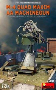 MiniArt 35211 M-4 Quad Maxim AA Machinegun 1/35