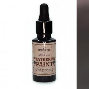 Modellers World MWE020 Weathering paint : Chipping 30 ml