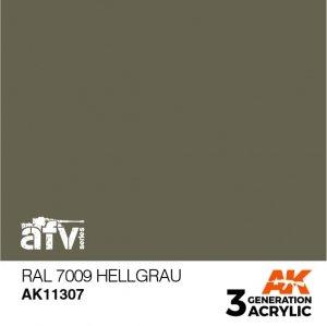 AK-Interactive AK 11307 RAL 7009 Hellgrau 17ml
