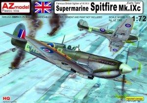 AZ Model AZ7392 Supermarine Spitfire Mk.IXc ,,Early tails'' (1:72)