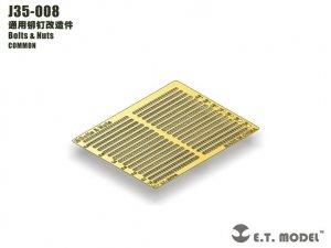 E.T. Model J35-008 Bolts & Nuts 1/35