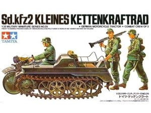 Tamiya 35029 Sd.Kfz. 2 Kleines Kettenkraftrad 1/35