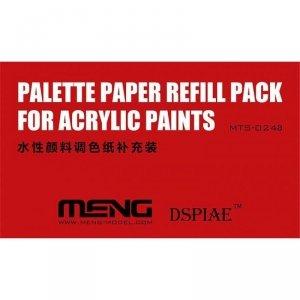 Meng Model MTS-024a Palette Paper Refill Pack ( papier do mokrej palety )