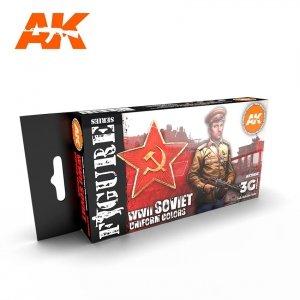 AK Interactive AK 11635 WWII SOVIET UNIFORM COLORS