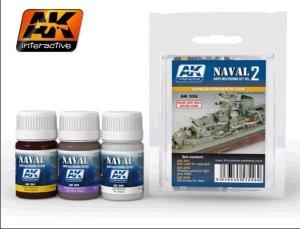 AK Interactive AK 556 Ships Weathering Set Vol.2