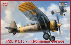 IBG 32002 PZL P.11c Romanian Service 1/32