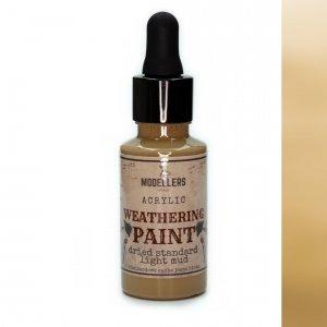 Modellers World MWE018 Weathering paint: Dried standard light mud 30 ml