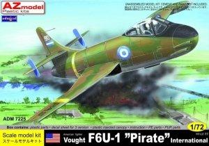 Admiral ADM7225 VOUGHT F6U-1 PIRATE INTERNATIONAL (1:72)