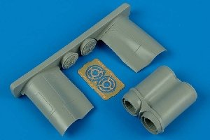 Aires 7213 BAC Lightning F.6/F.2A exhaust nozzles 1/72 TRUMPETER