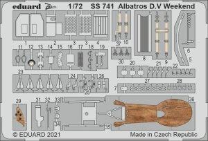 Eduard SS741 Albatros D.V Weekend EDUARD 1/72