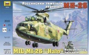Zvezda 7270 MIL MI-26 SOVIET HEAVY HELICOPTER (1:72)