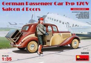 MiniArt 38008 German Passenger Car Type 170V Saloon 4 doors 1/35