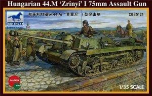 Bronco CB35121 Hungarian 75mm Assault Gun 44.M (1:35)