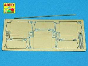 Aber 48030 Czołg KW 1 lub KW 2 wczesne- część 2- zasobniki na narzędzia późne Tamiya 1/48