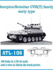 Friulmodel 1:35 ATL-106 Scorpion/Scimitar CVR(T) family early type